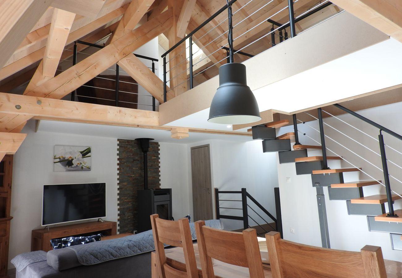 Appartement à Chantemerle - A 200m des pistes T3 - 6 personnes