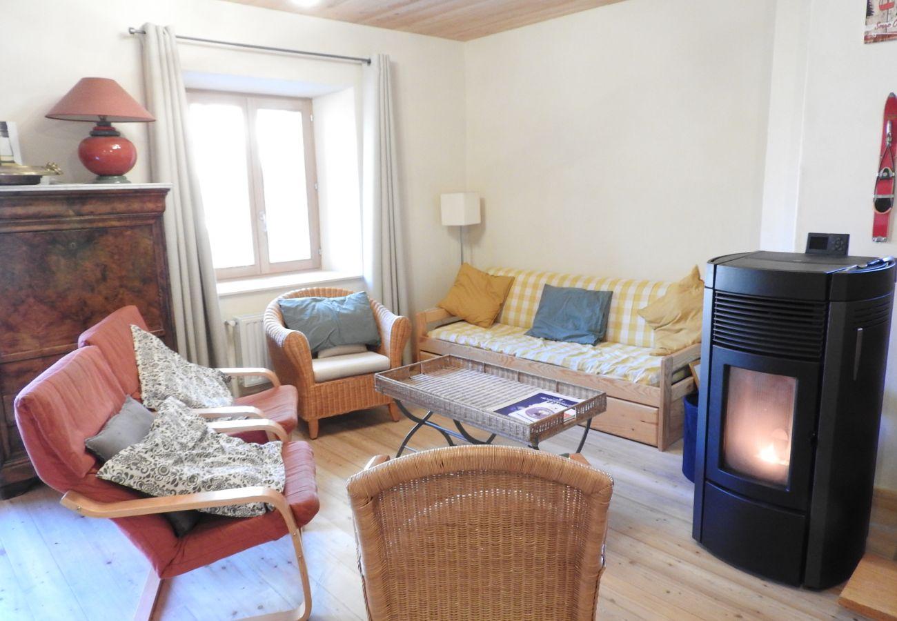 Maison mitoyenne à Saint-Chaffrey - A DEUX PAS DES PISTES-MAISON 12 PERSONNES